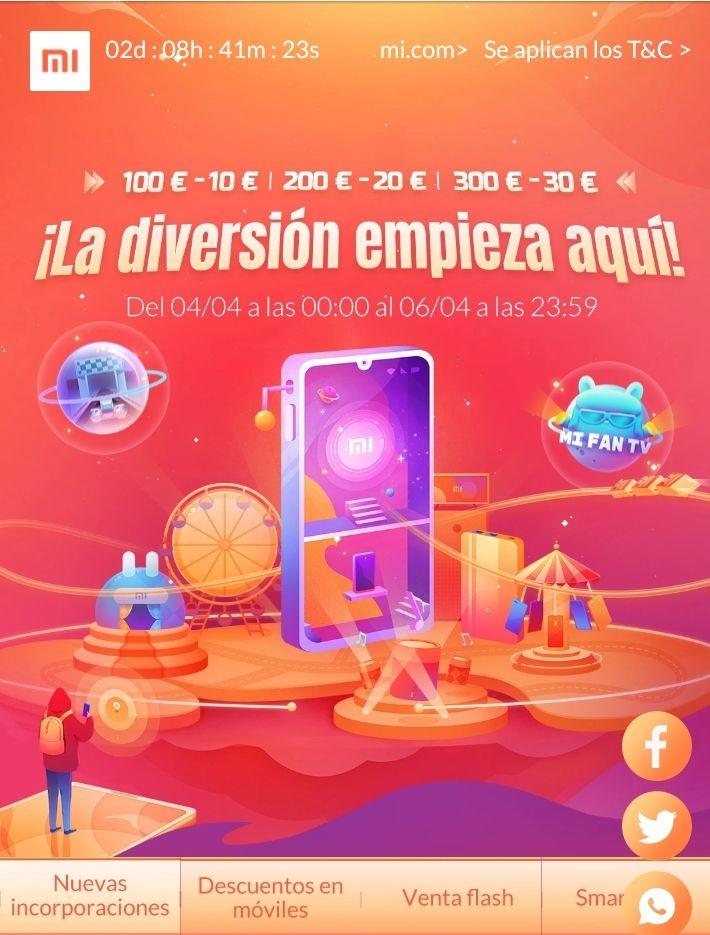 Festival Xiaomi -  (Ej: Pocophone F1 249 €)