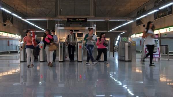 10 Euros GRATIS Extra Recargando 10 Euros en Metro de Sevilla