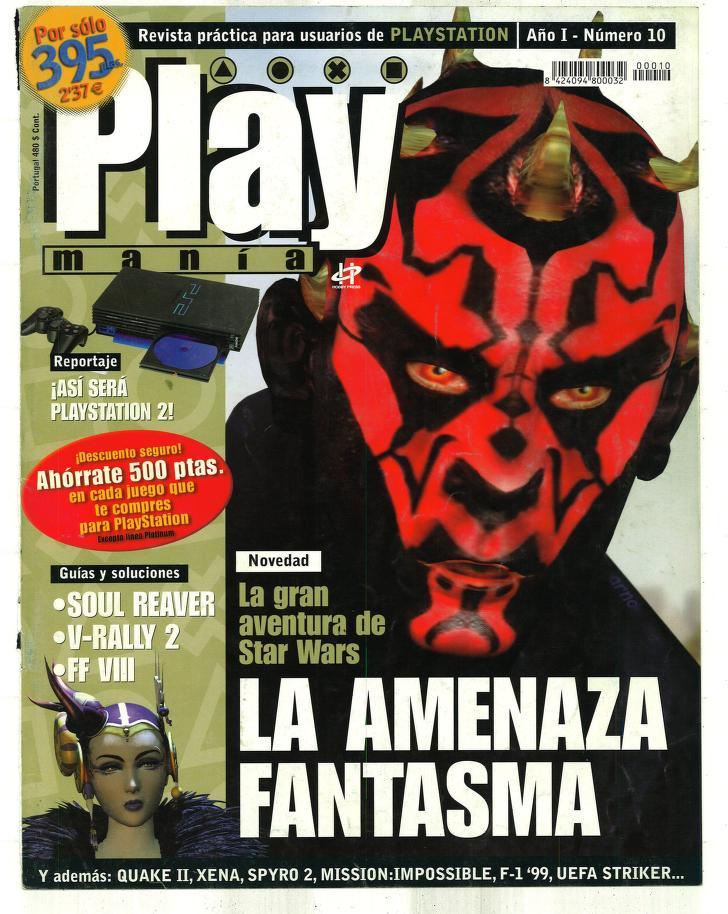 Lee gratis, 214 números de la revista PlayManía
