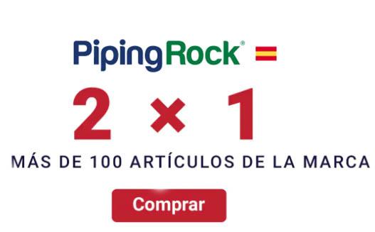 2×1 mas cupon en pipingrock