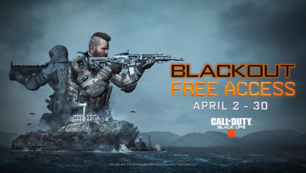 Acceso gratuito modo Blackout BO4 (2-30abril)