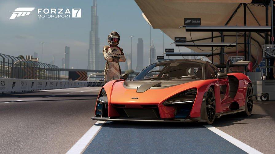 Gratis: McLaren Senna en Forza Motorsport 7 (Xbox One y PC)
