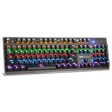 Teclado mecánico RGB con interruptores  azules