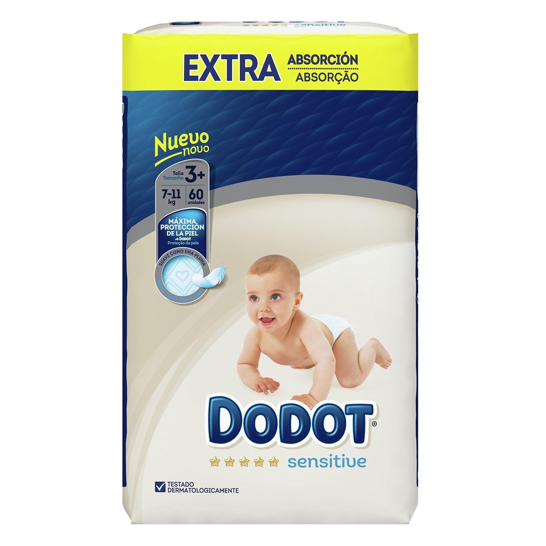 Pañales Dodot 2x1 en Cheque Carrefour