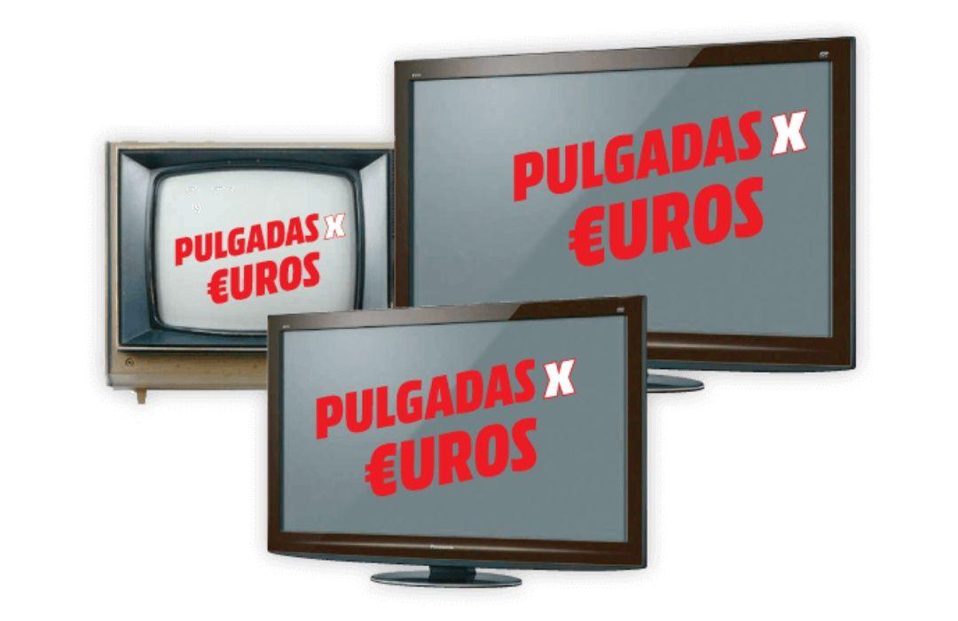 Pulgadas X euros en Mediamarkt