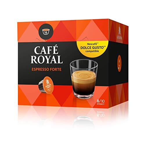 Café Royal Espresso Forte 48 cápsulas compatibles con Nescafé Dolce Gusto