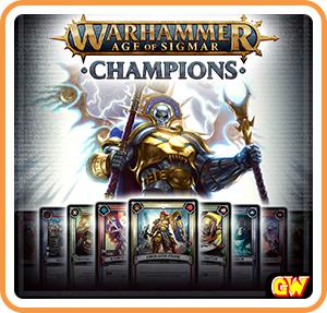 Gratis Warhammer Age of Sigmar: Champions (Nintendo Switch, eShop)