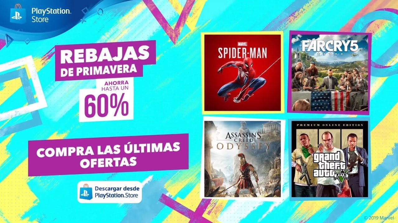 Playstation Store: Ofertas de primavera