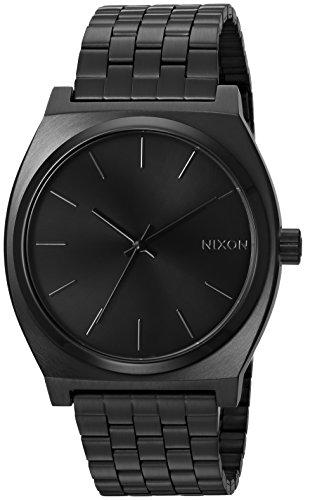 NIXON Reloj Analógico de Cuarzo para Hombre con Correa de Acero Inoxidable