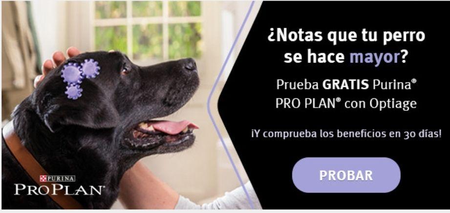regalo de bienvenida Club PURINA PRO PLAN Optiage para perros Seniors