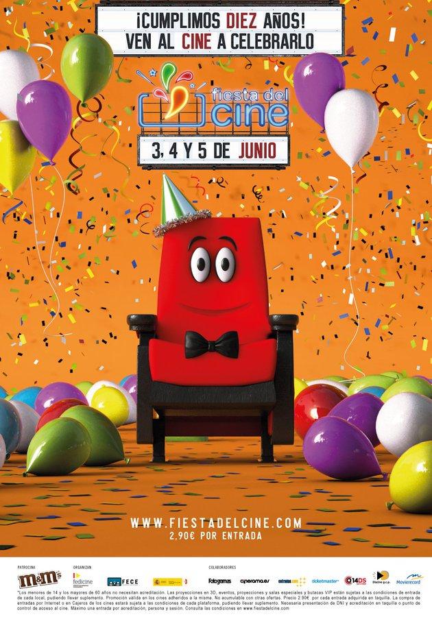 La #FiestaDelCine vuelve el 3, 4 y 5 de junio