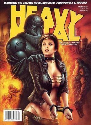 Gratis: 166 números de la Revista Heavy Metal