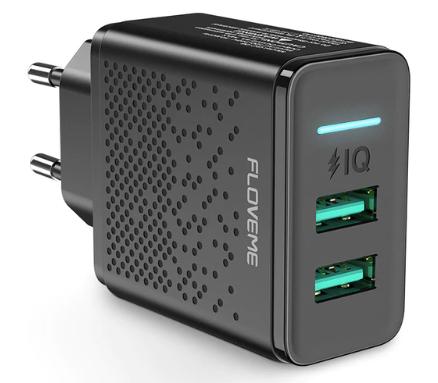 Cargador IQ doble USB solo 2.9€