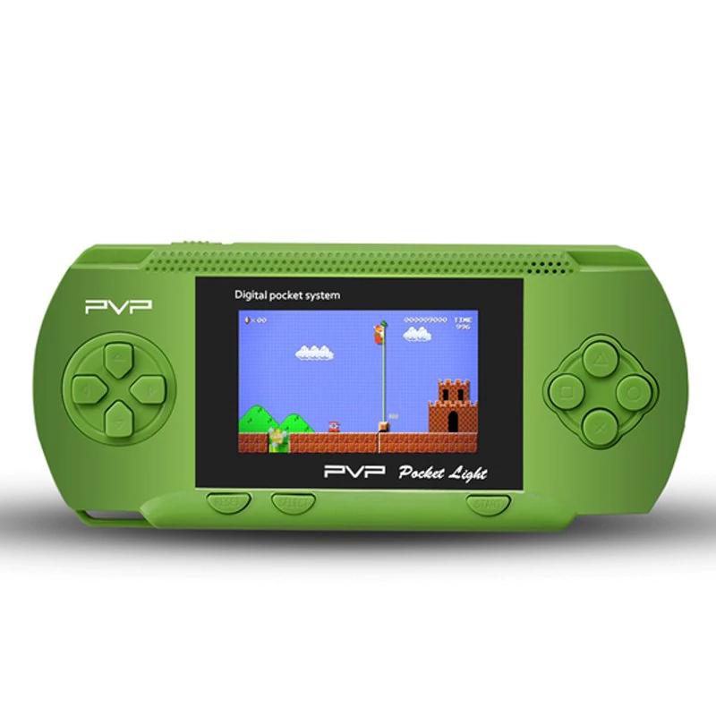 """Mini consola 2,8"""" retro PVP3000 100 juegos"""