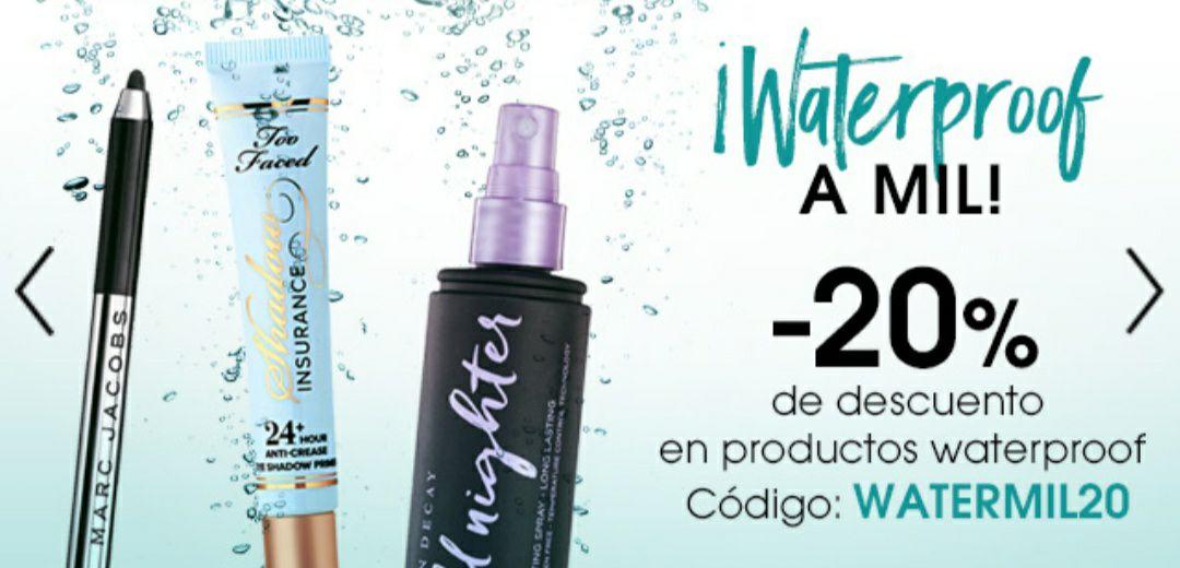 SEPHORA - Descuento en productos waterproof
