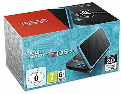 Nintendo New 2DS XL (Negro y Turquesa)