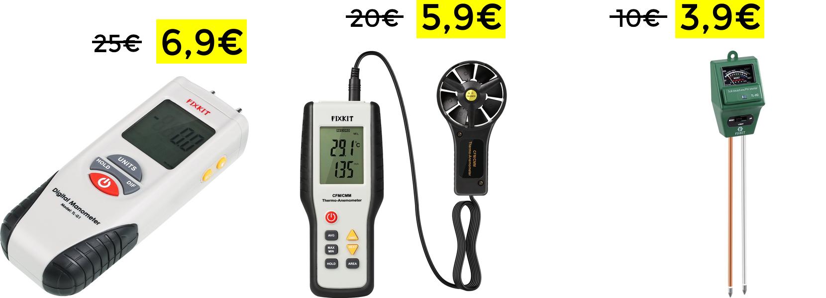 Manómetro Digital  solo 6.9€