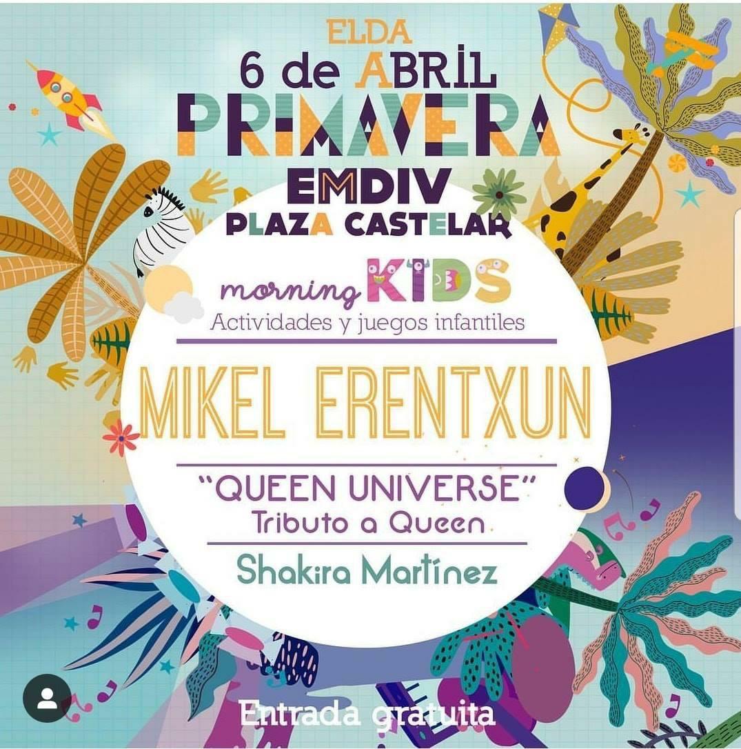 Festival gratuito en Elda