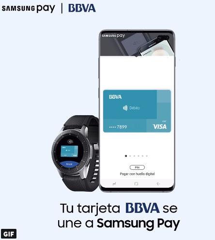 5€ gratis con Samsung Pay y BBVA