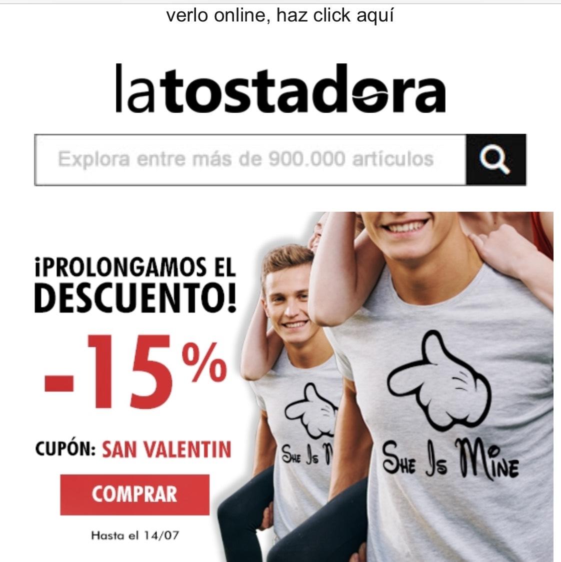 15% LA TOSTADORA