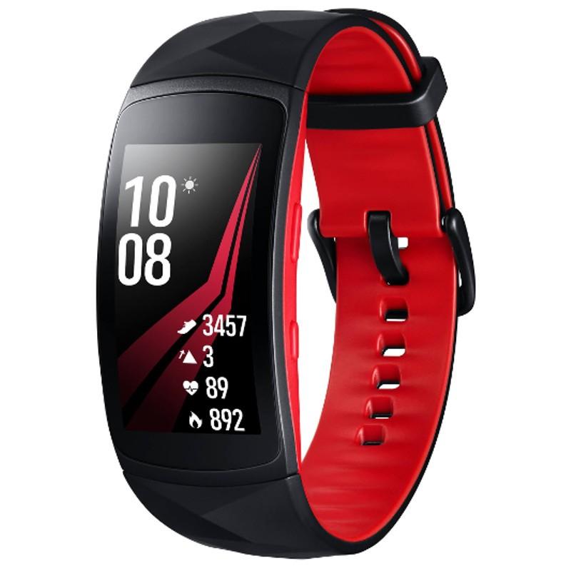 Samsung Gear Fit2 Pro R365 (Grande) - Rojo DESCUENTO DE 7,12 Y 20 EUROS POR INICIAR SESION Y REGISTRARTE.