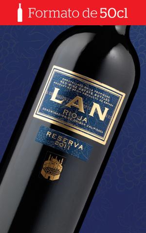 9 botellas Lan Reserva 2011