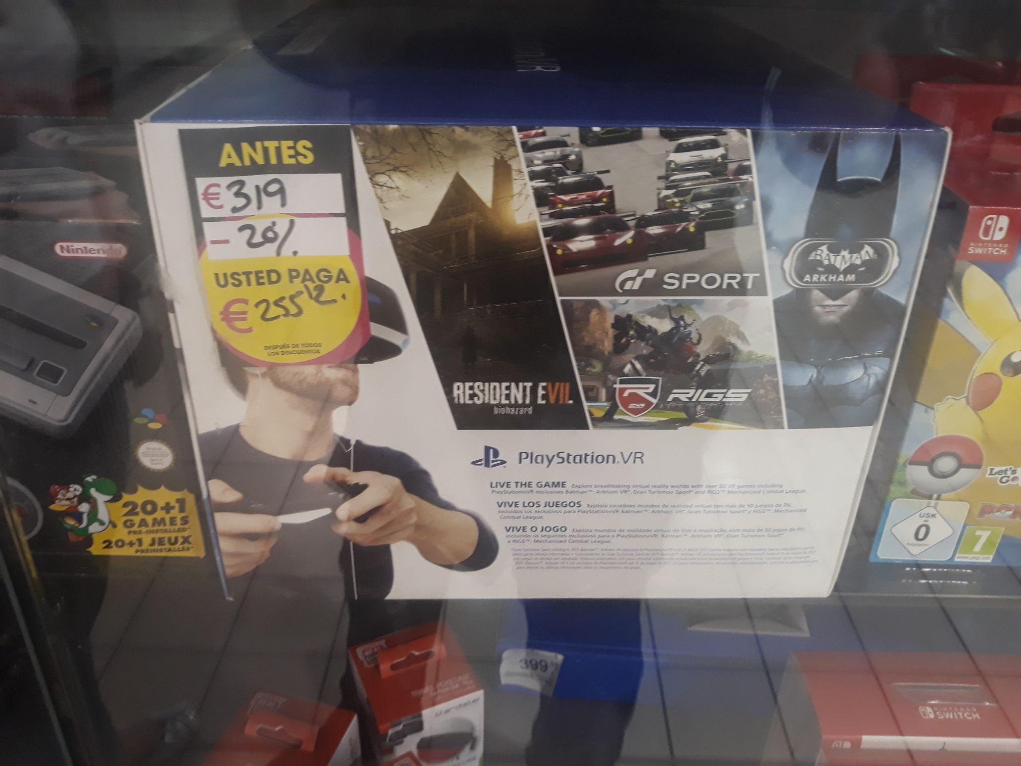 Gafas VR Play Station 4 + juegos