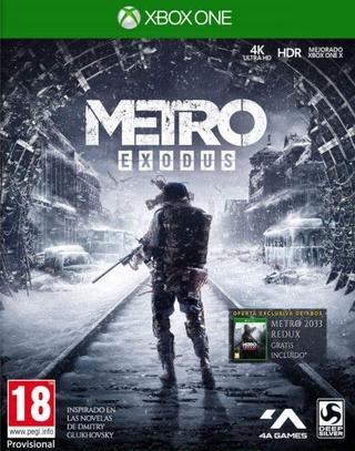 Metro Exodus edición física Xbox One (Metro 2033 y Redux de regalo en versión código)