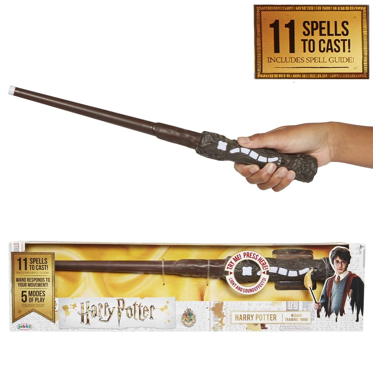 Jakks Pacific Varita Magica con hechizos-Harry Potter, Hermione, etc