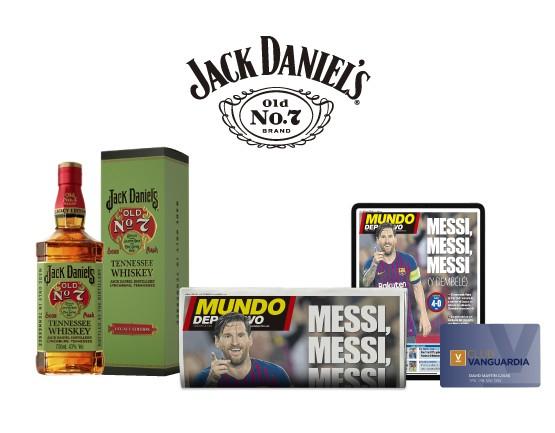 Suscripción a Mundo Deportivo  + Jack Daniel's Legacy Edition + Camiseta