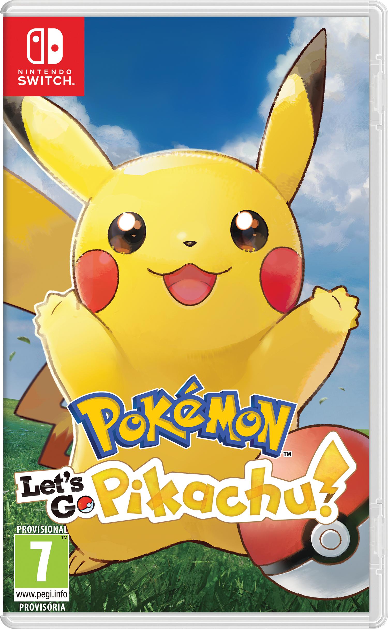Pokemon lets go pikachu a 39.90 en eroski