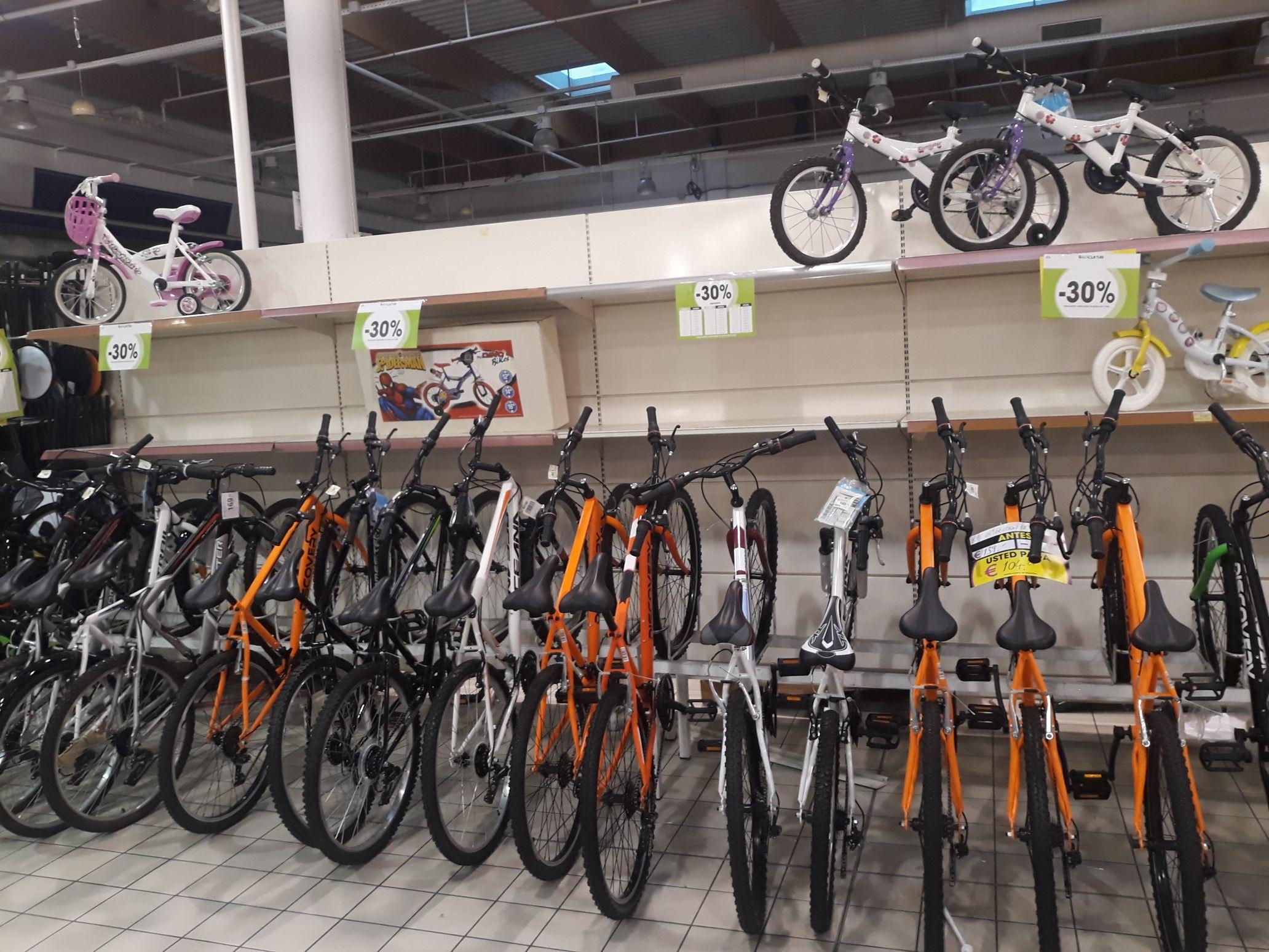 Ahora 30% de descuento en bicicletas en Eroski
