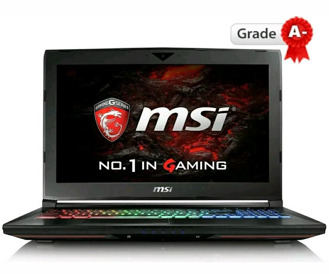 MSI GT62VR 7RE Dominator Pro (Reacondicionado)