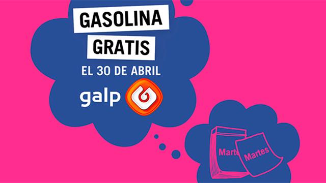 Gasolina GALP GRATIS con Yoigo