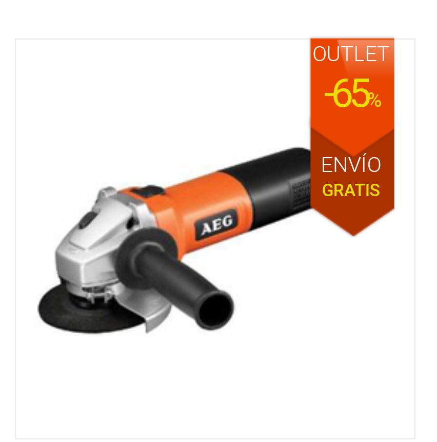 Amoladora AEG 670w