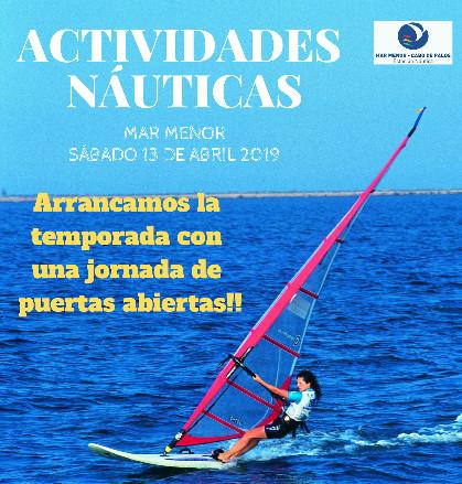 MURCIA (Mar Menor) Sábado 13 de Abril: Jornada de puertas abiertas para probar todos los deportes náuticos (GRATIS)