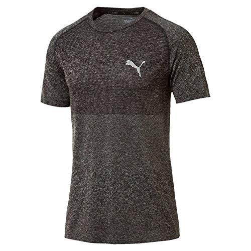 Puma Evoknit Basic T-Shirt, Hombre, Dark Gray Heather, S ((( M,L,XL)))