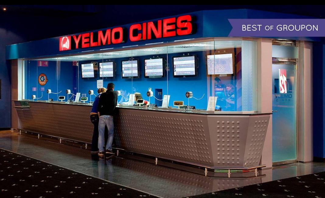 Entradas de cine Yelmo desde 4.95