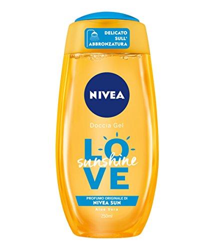 NIVEA ducha Gel Love Sunshine, 6 paquetes de 250 ML, Total: 1500 ML sol