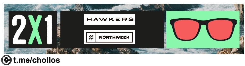 Nothweek y Hawkers desde solo 7.5€