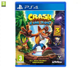 Crash Bandicoot: N. Sane Trilogy para Playstation 4