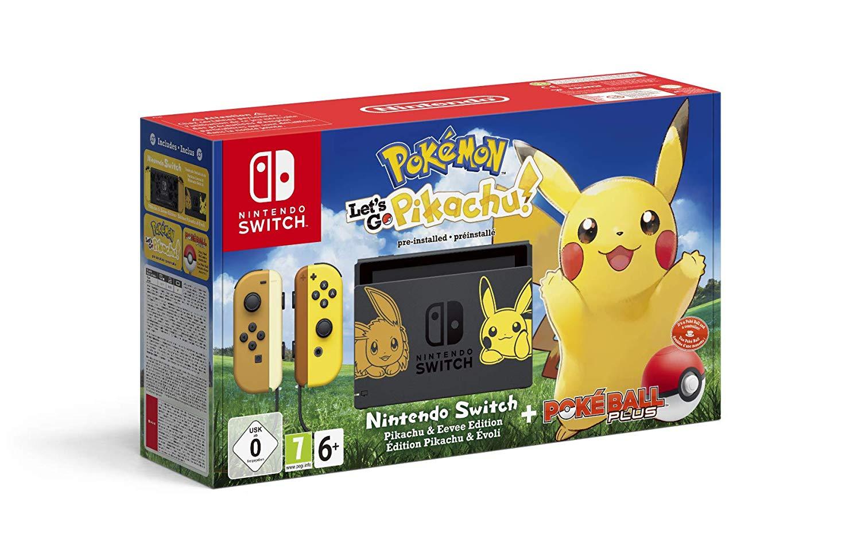 Nintendo Switch edicion pikachu reaco