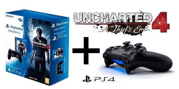 Uncharted 4 + Dualshock