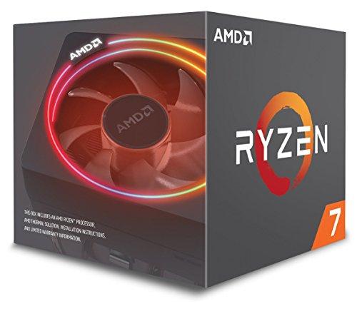 AMD Ryzen 7 2700X - 20 MB, 8 núcleos-4.35 GhZ-105 W