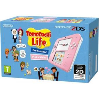 Nintendo 2DS Rosa + Tomodachi Life. Sólo quedan 2 unidades