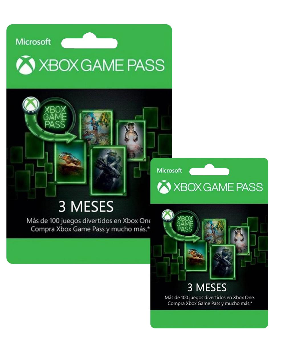 3 Meses de Xbox Game Pass + 3 Meses más de REGALO