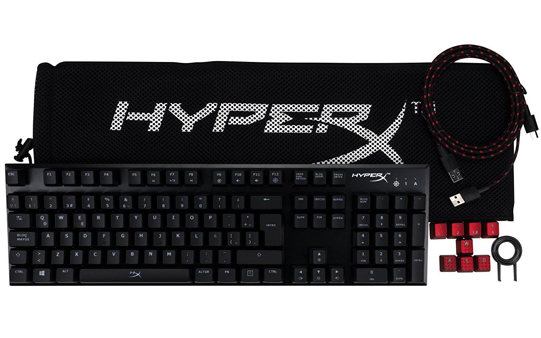 Hyper AlloyX FPS Teclado mecánico solo 59.9€