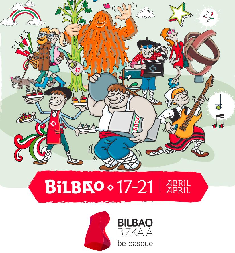 Basque Fest 2019, Más 300 actividades en Semana Santa (Bilbao)