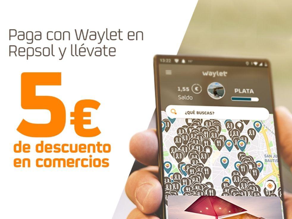 Vuelven los 5€ de descuentos en comercios con Waylet