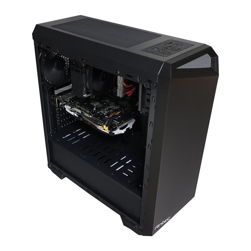 CoolPC Black V/ryzen 5 2600/gtx1660ti/ 8gb
